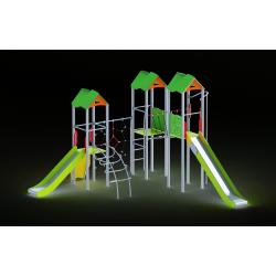 0004 - Игровой комплекс 562 x 596 x 387 cm