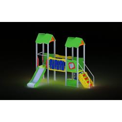 0008 - Игровой комплекс 233 x 391 x 297 cm
