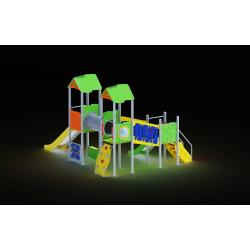 0009 - Игровой комплекс 402 x 496 x 327 cm