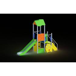 0010 - Игровой комплекс 120 x 429 x 327 cm