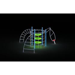 0012 - Игровой комплекс 528 x 458 x 262 cm