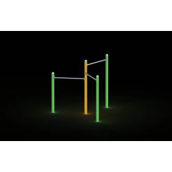 0018 - Игровой комплекс 189 x 217 x 200 cm