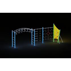 0019 - Игровой комплекс 130 x 701 x 248 cm