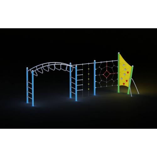 Купить 0019 - Игровой комплекс 130 x 701 x 248 cm со скидкой!