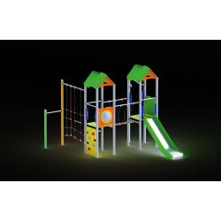 0021 - Игровой комплекс 381 x 438 x 327 cm