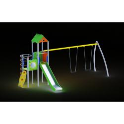 0026 - Игровой комплекс 392 x 694 x 357 cm