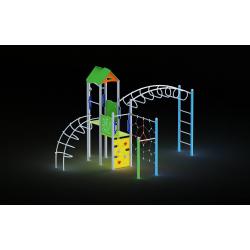 0027 - Игровой комплекс 373 x 521 x 357 cm
