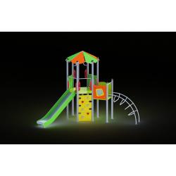 0028 - Игровой комплекс 380 x 467 x 362 cm