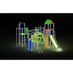 0029 - Игровой комплекс 423 x 733 x 357 cm