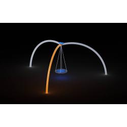 0079 - Качели 520 x 600 x 270 cm