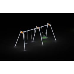 0090 - Качели 217 x 617x 245 cm