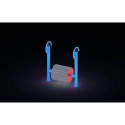 0114 - Игровой элемент 105 x 49 x 133 cm