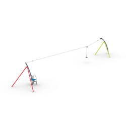 0132 - Канатная дорога 400 x 2343 x 376 cm