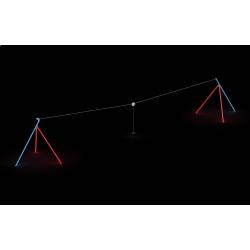 0148 - Канатная дорога 2512 x 385 x 376 cm