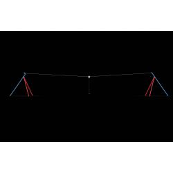 0149 - Канатная дорога 2512 x 385 x 376 cm