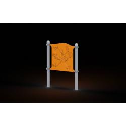 0151 - Игровой элемент 13 x 90 x 125 cm