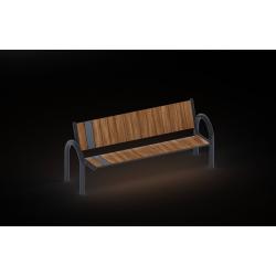 0201 - Скамья 186 x 67 x 80 cm