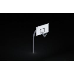 0214 - Баскетбольный щит  150 х 230 х 385см