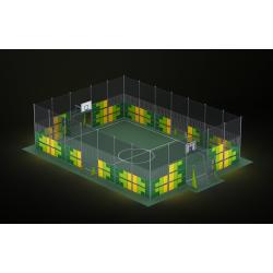 0467 - Спортивная площадка 2076 x 1420 x 514 cm