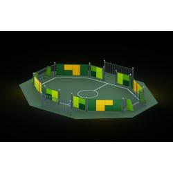 0468 - Спортивная площадка 897 x 754 x 112 cm