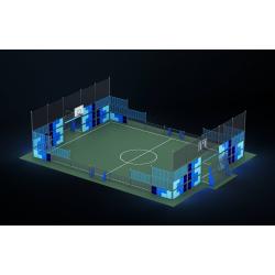 0469 - Спортивная площадка 2076 x 1420 x 514 cm