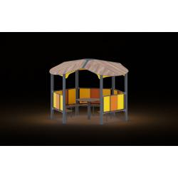 0481 - Беседка 301 x 319 x 244 cm