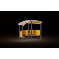 0482 - Беседка 194 x 319 x 244 cm