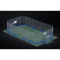 0487 - Спортивная площадка 2430 x 1272 x 514 cm