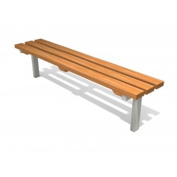 0586 - Скамья 160 x 33 х 40 cm