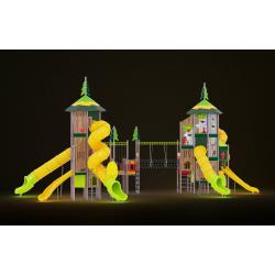 0614 - Игровой комплекс  1904 x 1071 х 862 см