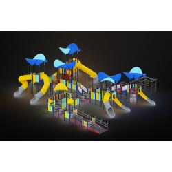 0617 - Игровой комплекс  2007 x 1747 х 588 см
