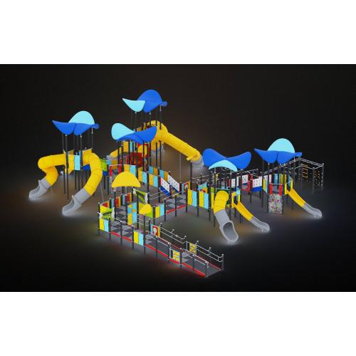 Купить 0617 - Игровой комплекс  2007 x 1747 х 588 см со скидкой!